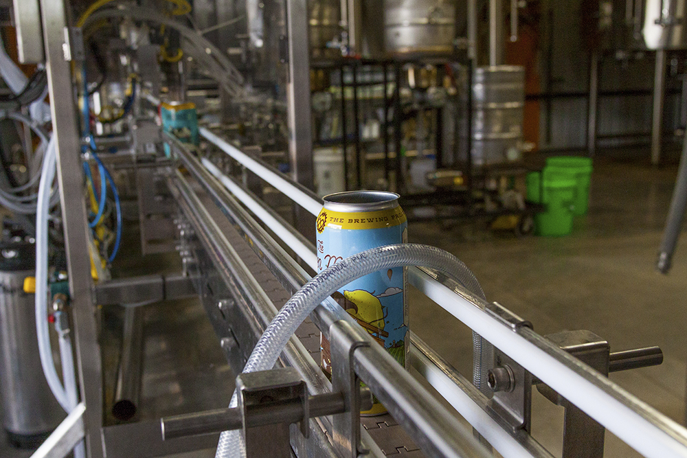 Eau Claire's The Brewing Projekt is one of the companies being impacted by the shutdown of the TTB // Photo by Aaron Davidson