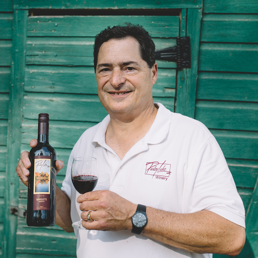 Steve Zeller of Parley Lake Winery // Photo by Sam Ziegler