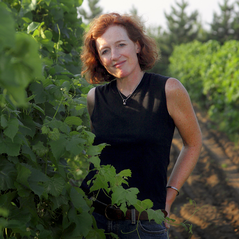 Nan Bailly // Photo courtesy Alexis Bailly Vineyard