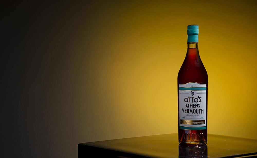 A bottle of Otto's Athens Vermouth // Photo by Aaron Job