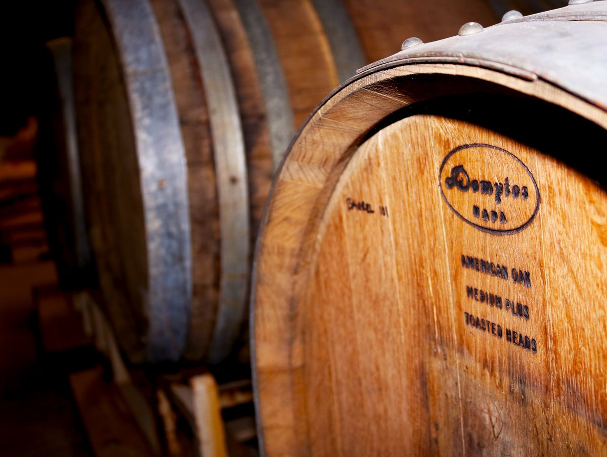Hoops Brewing's Barrel Ages No. 200 Wheatwine // Photo via Hoops Brewing Twitter
