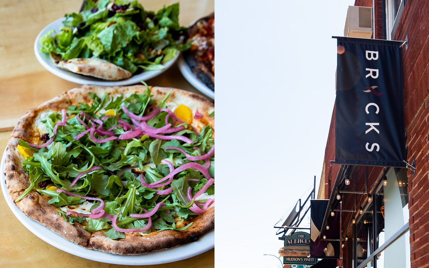 Bricks Neapolitan Pizza in Hudson, Wisconsin // Photos by Emily Winters