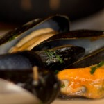 Pig & Fiddle - Mussels with Frites