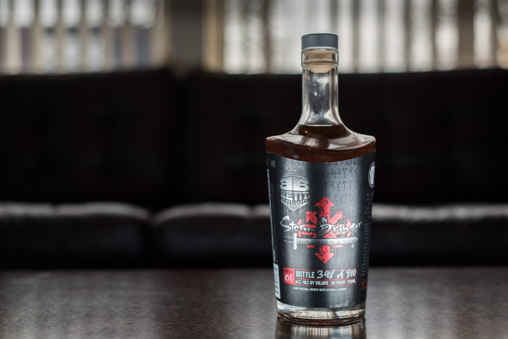 Bent Brewstillery's Stormbringer Rum is available now // Photo by Kevin Kramer, The Growler