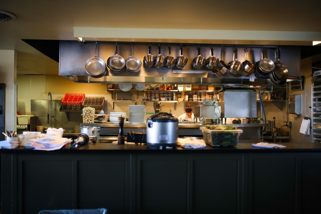 The Kitchen at Restaurant Alma // Photo by Aaron Davidson