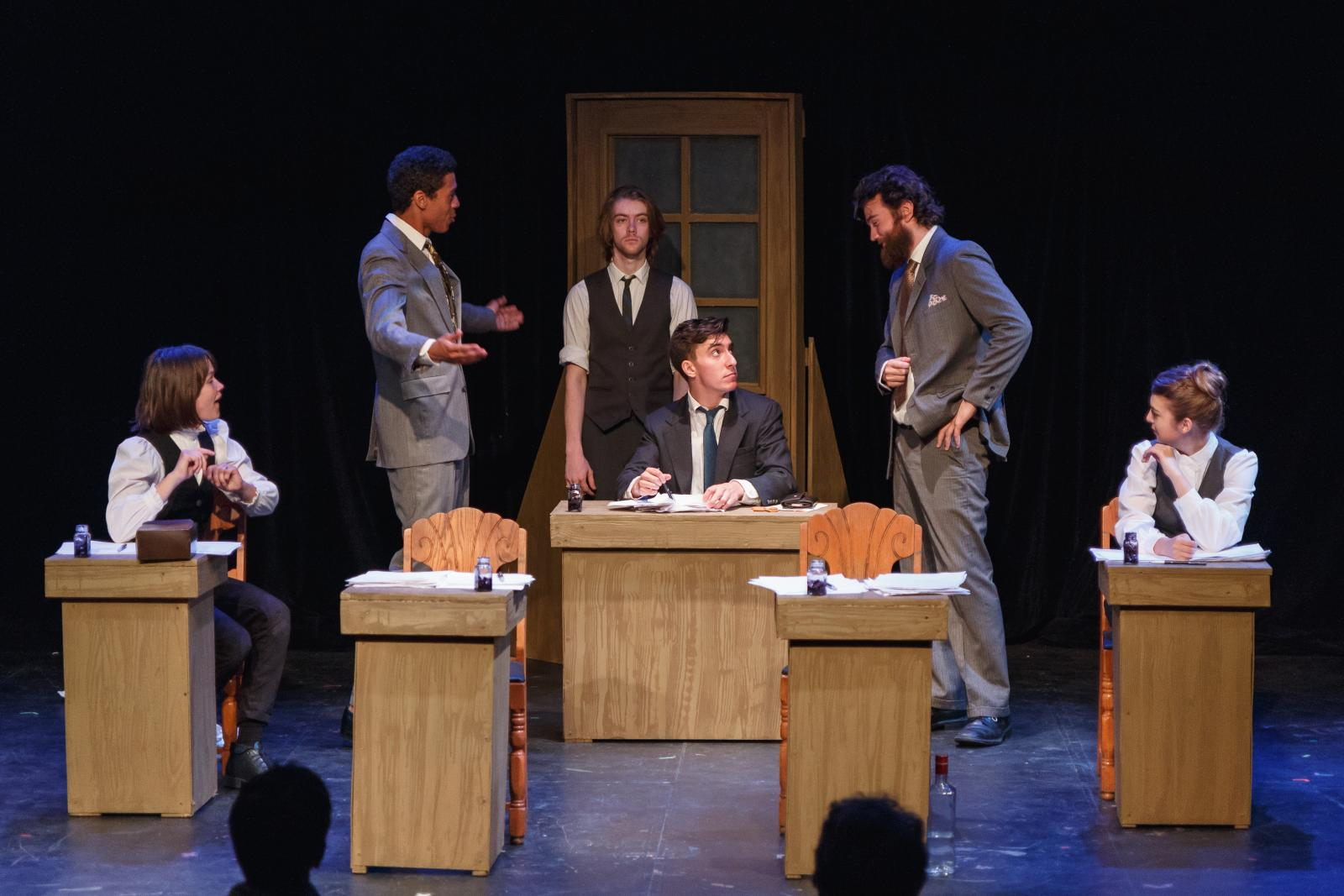 """""""Bartleby"""" presented by The Windmill Company at Mixed Blood Theatre"""