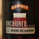 Summit Brewing Unchained #14 Biere de Garde // Photo by Brian Kaufenberg