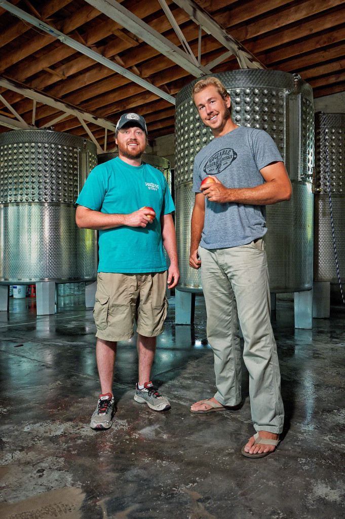 Wade Thompson (left) and Jim Watkins (right) of Sociable Cider Werks // Photo courtesy of Sociable Cider Werks
