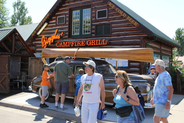 Giggles' Campfire Grill // Photo by Brian Kaufenberg
