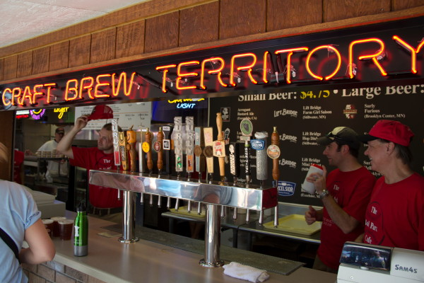 """The Ball Park Cafe at the Fair is """"Craft Brew Territory"""" // Photo by Brian Kaufenberg"""