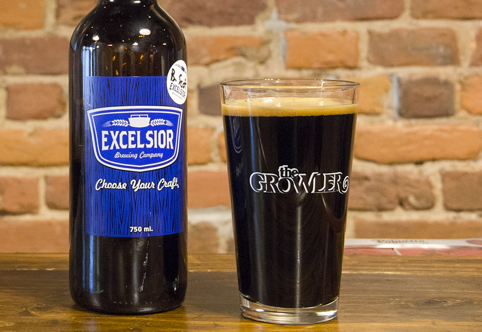 Excelsior Brewing's Barrel-Aged Scofflaw Russian Imperial Stout // Photo by The Growler