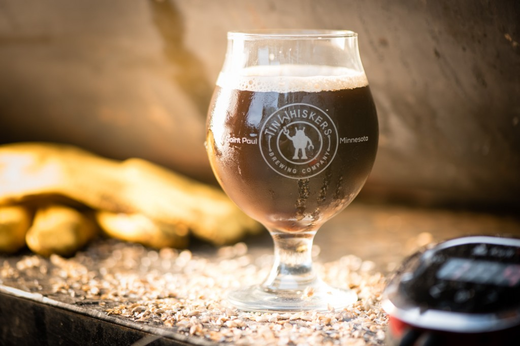 Handsome Hog Smoke Ale, brewed by Tin Whiskers, Photo by Kevin Kramer // Growler Magazine
