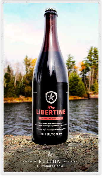 Fulton Brewing's Libertine Imperial Red Ale