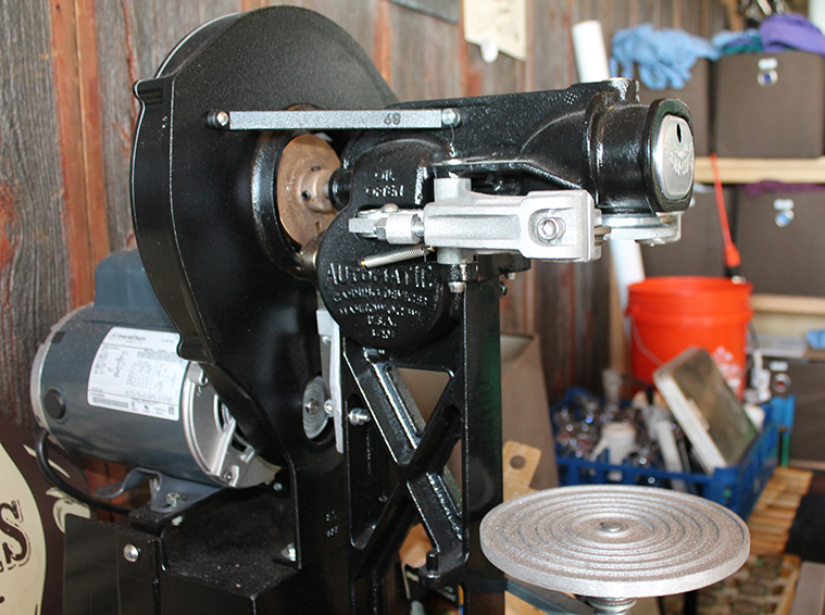 Canning machine at Sociable Cider Werks // Photo by Loren Green