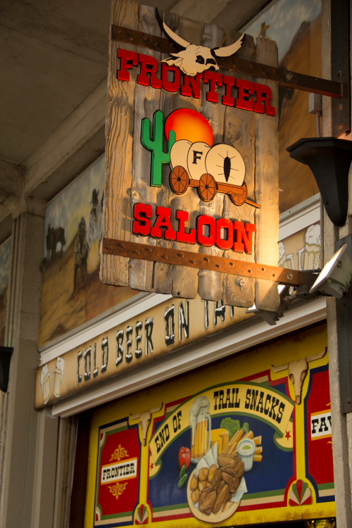 The Frontier Saloon, Minnesota State Fair 2014 // Photo by Brian Kaufenberg