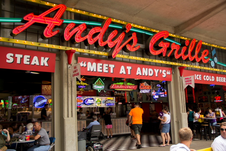 Andy's Grille, Minnesota State Fair // Photo by Brian Kaufenberg