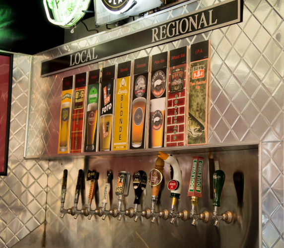 Andy's Grille Taps, Minnesota State Fair // Photo by Brian Kaufenberg