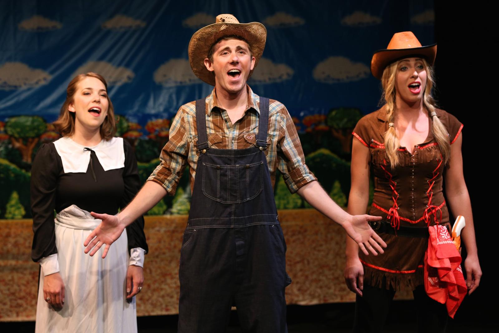 """Oregon Trail: A Musical"" presented by Literally Entertainment at Mixed Blood Theatre. Photo: Alex Wohlhueter."