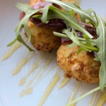 Goat Cheese Fritters - Pat's Tap