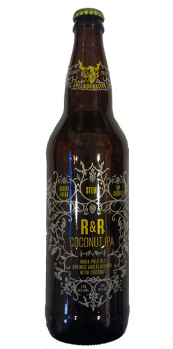 Stone Brewing R & R Coconut IPA