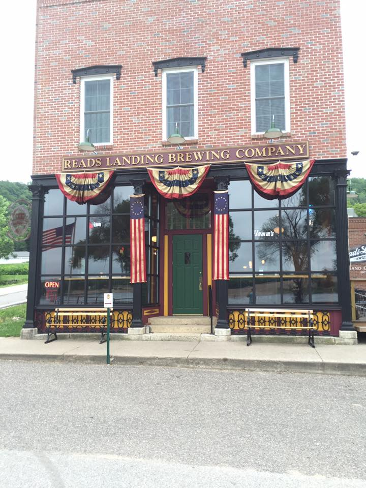 Read's Landing Brewing Company's storefront // Photo courtesy of Read's Landing Brewing Company