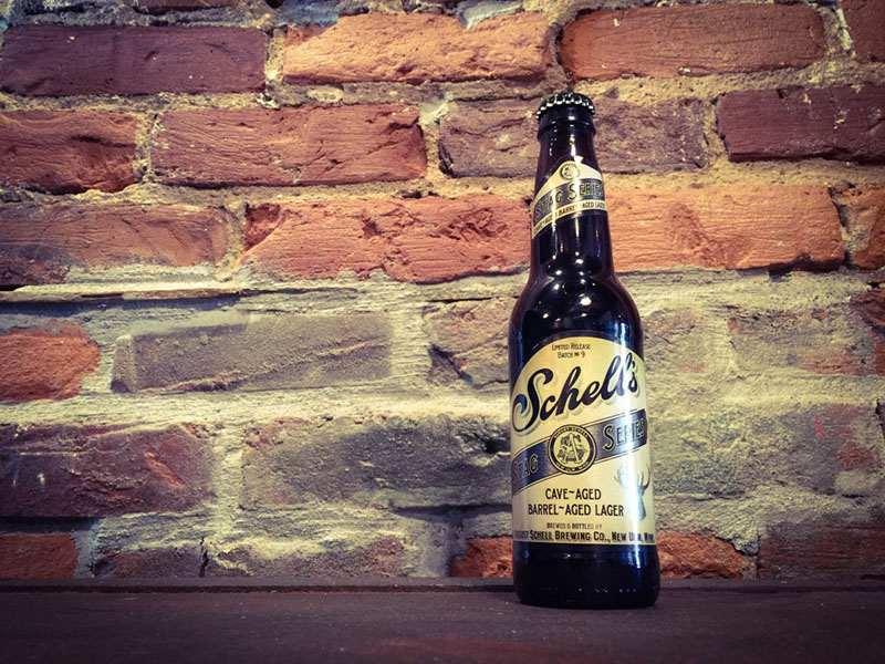 Schells Cave Aged Lager