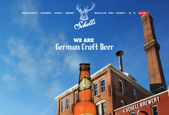 Schell's Brewery: We Are German Craft Beer // Courtesy of Schell's Brewery