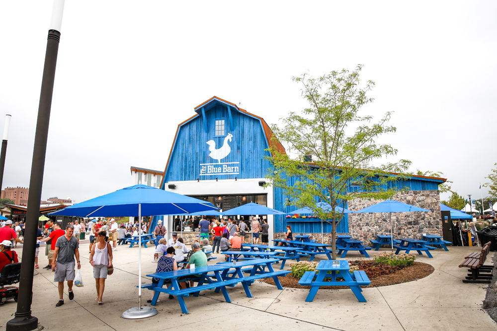 The Blue Barn at the Minnesota State Fair // Photo by Aaron Davidson, The Growler