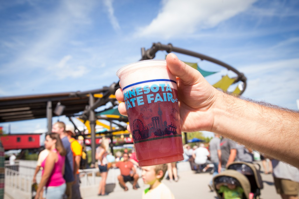 Schell's Sangria, our must-have beverage at the 2016 Minnesota State Fair, Photo by Aaron Davidson // Growler Magazine