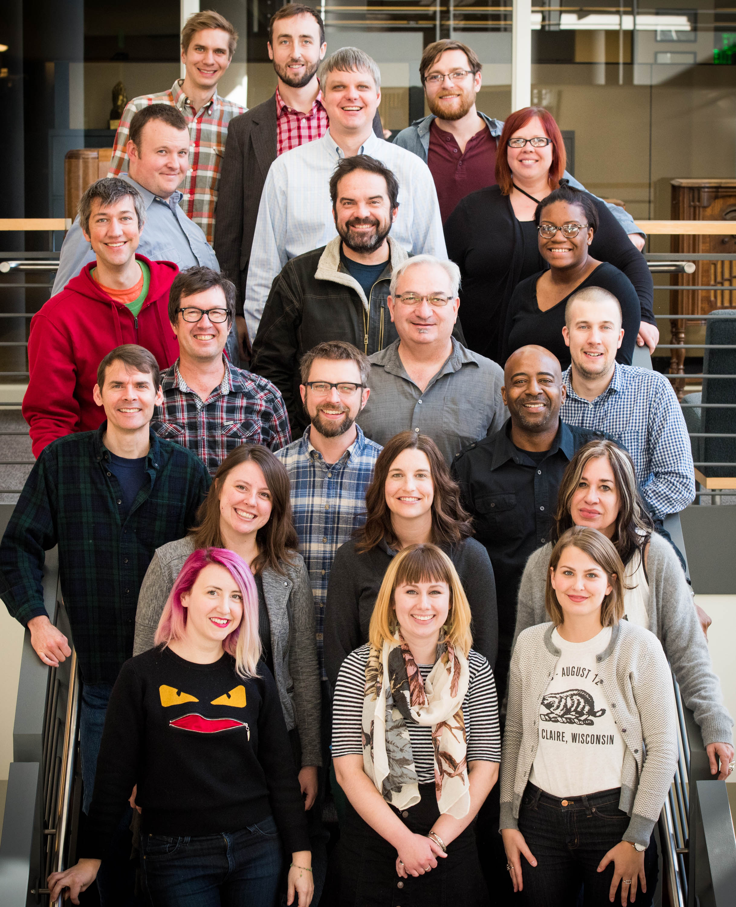 The Current Staff -- Photo by Nate Ryan, MPR