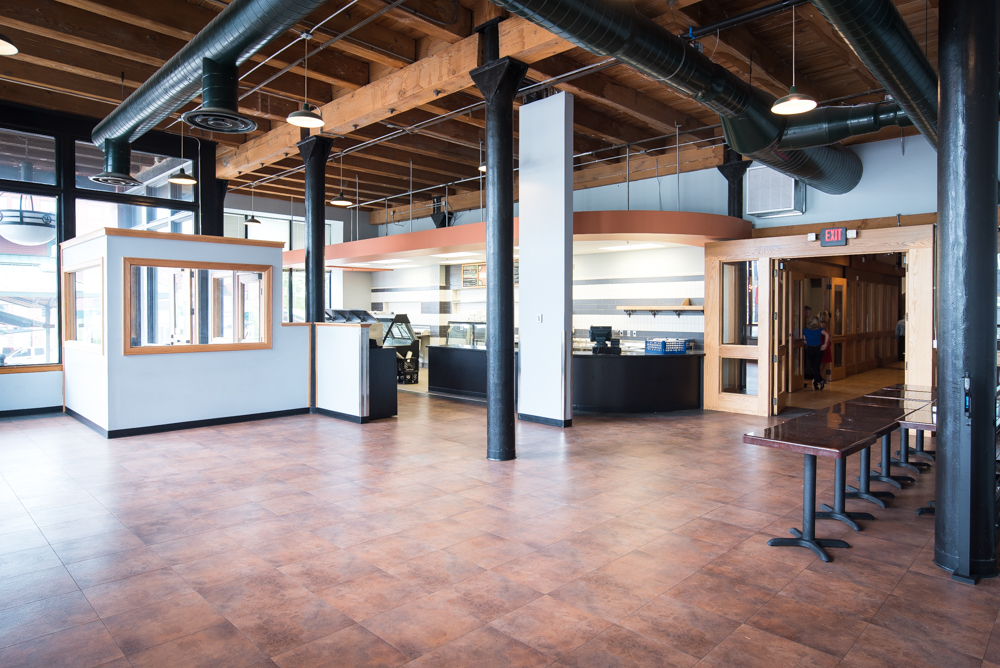 Heartland's market space is soon to become a corner bakery // Photo by Kevin Kramer, The Growler