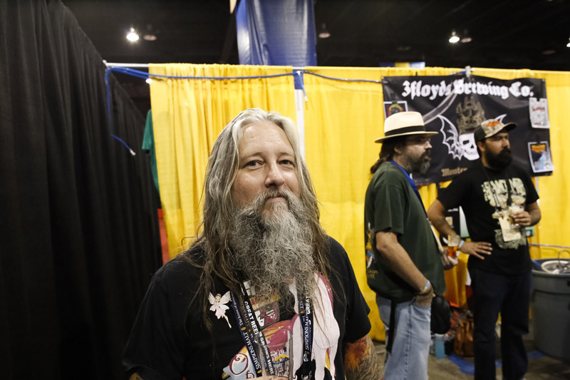 The Growler caught up with Surly Brewing Co.'s Head Brewer Todd Haug at the GABF. Photo by Aaron Davidson