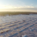 U.S Pond Hockey Championship Rinks at Sunrise