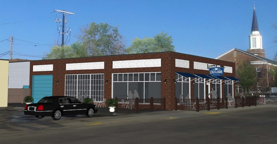 Design for Excelsior Brewing Expansion Project // Courtesy of Excelsior Brewing