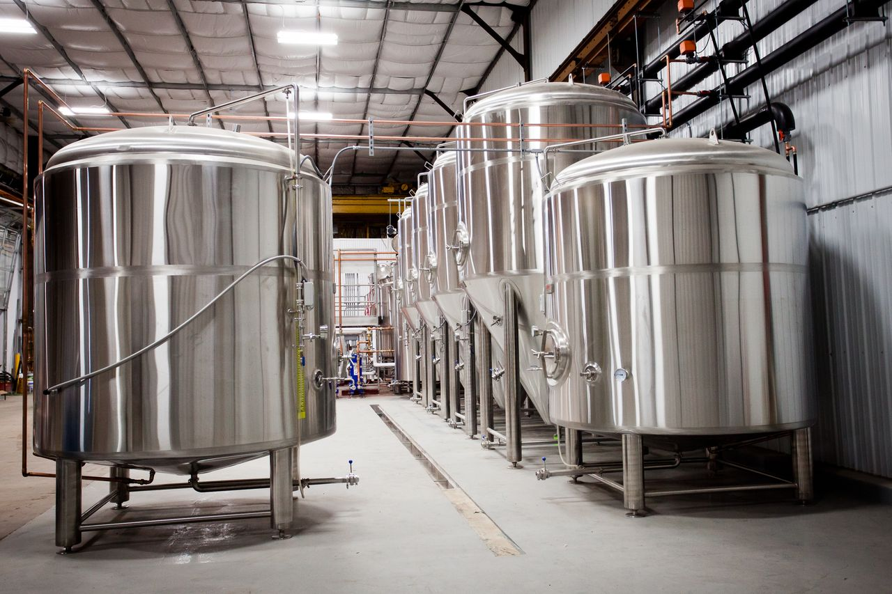 Bent Paddle's Duluth Brewhouse // Courtesy Bent Paddle brewing Co