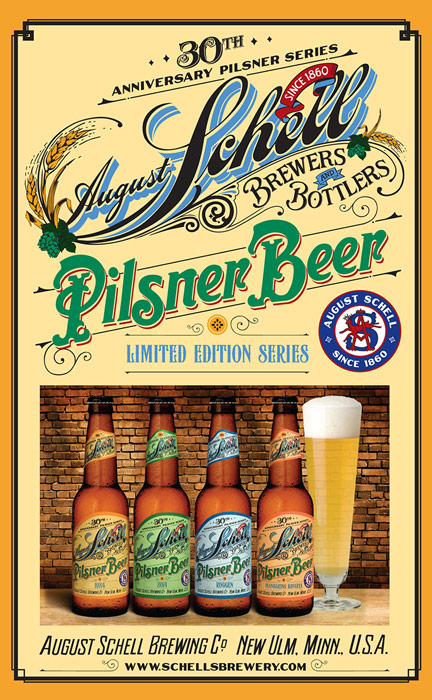 August Schell 30th Anniversary Pilsner Series