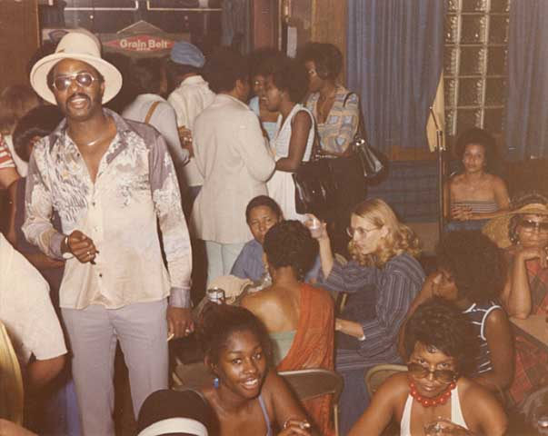 Customers at Nacirema Club in Minneapolis, circa 1980 // Photo courtesy of Minnesota Historical Society