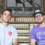 Dan and Aaron Juhnke, co-founders of Junkyard Brewing in Moorhead, Minnesota // Photo by Ethan Mickelson