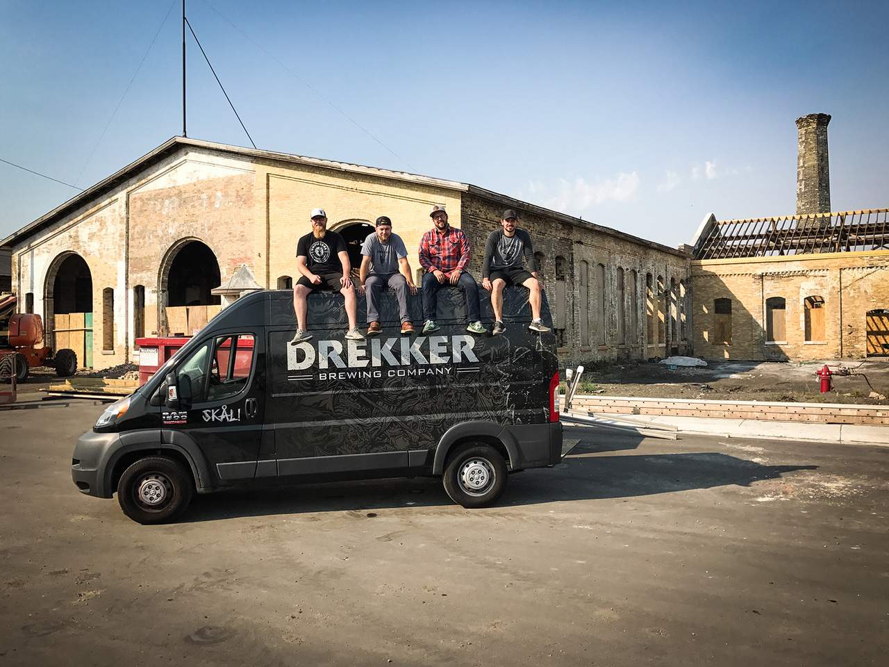 Drekker Brewing is expanding into a second brewery and taproom // Photo via Drekker Brewing