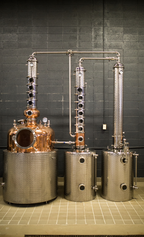 A still is waiting to be fired up at Dashfire's Minnetonka distillery // Photo by Aaron Davidson