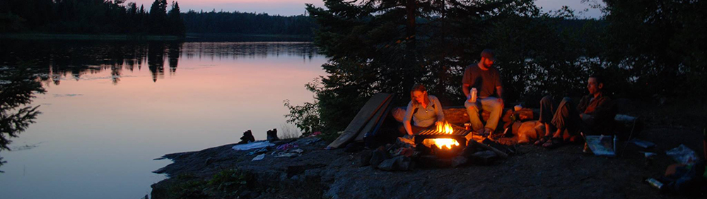 People camping in the Boundary Waters Wilderness Area // Photo courtesy Friends Of The Boundary Waters Facebook