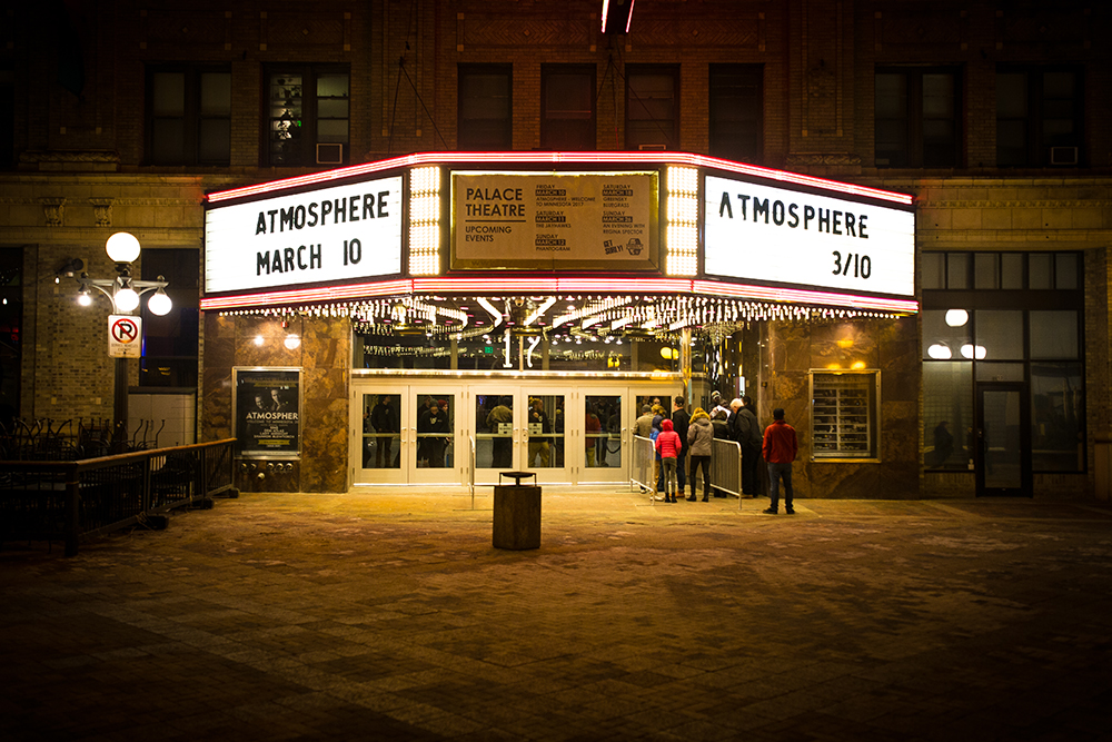 The Marquee at The Palace Theatre in St. Paul // The Growler Photo