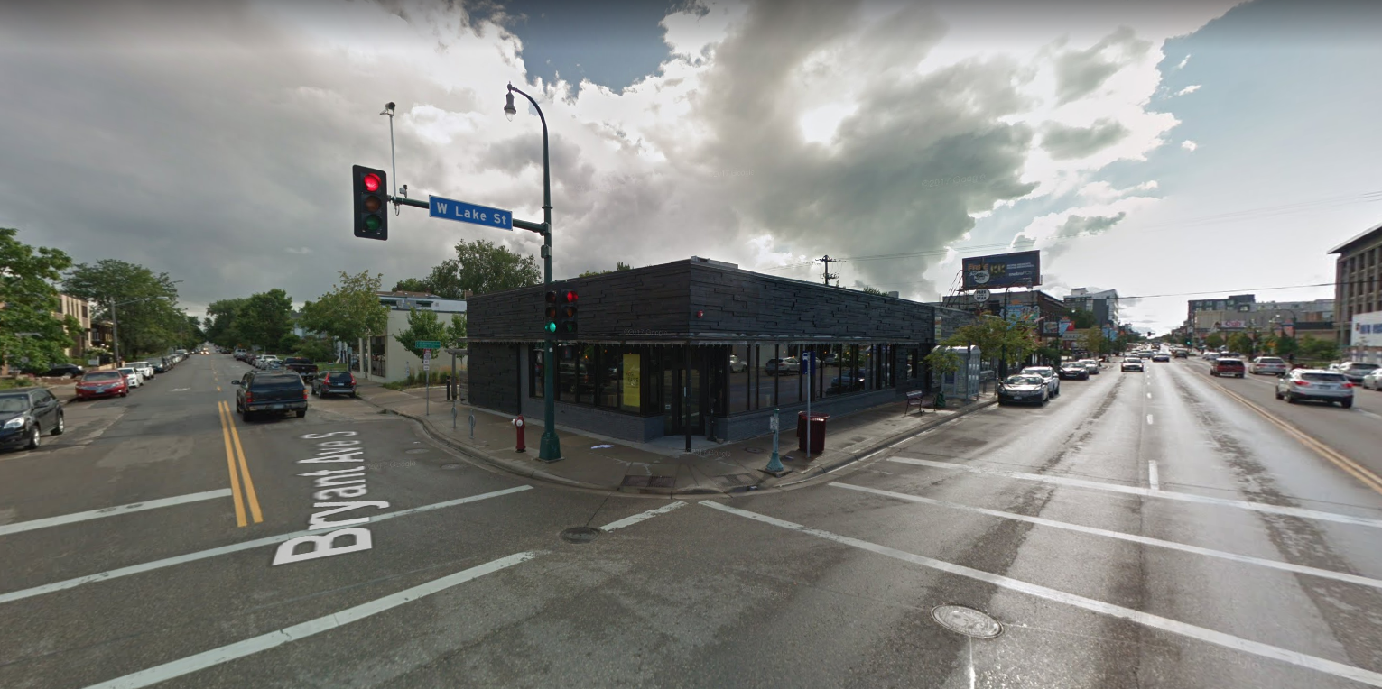 The building formerly home to Spill The Wine is the site of a new Montreal-style bagel shop // Image via Google