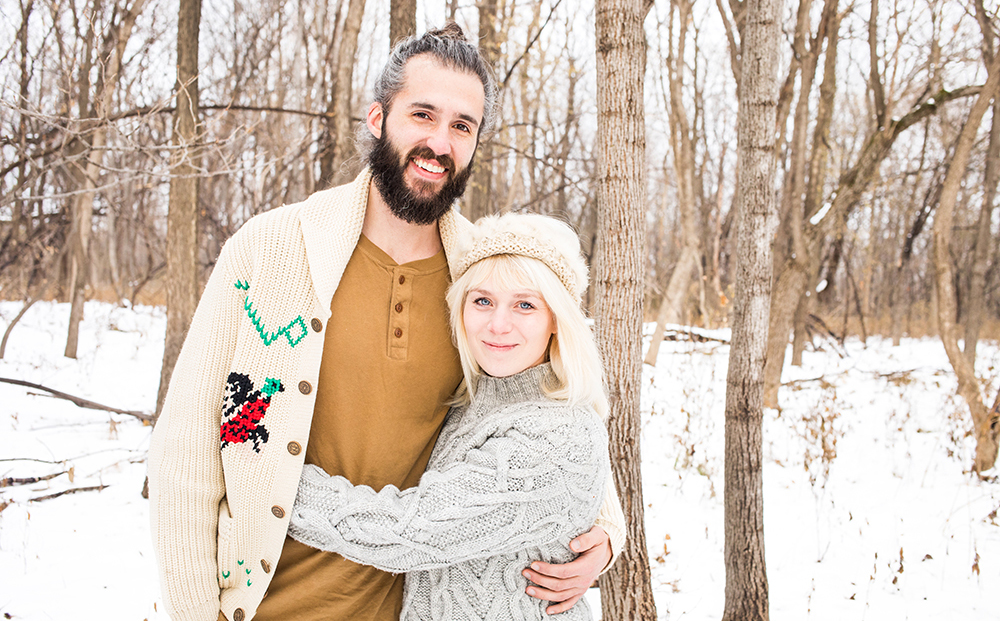 Max and Johnna Holmgren of Fox Meets Bear // Photo by Tj Turner