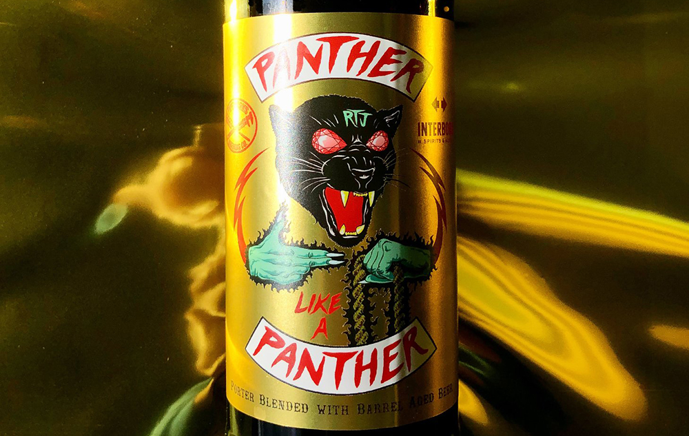Pipeworks Brewing Company's Panther Like A Panther - a collaboration with Run The Jewels // Photo via Pipeworks Brewing Company Twitter