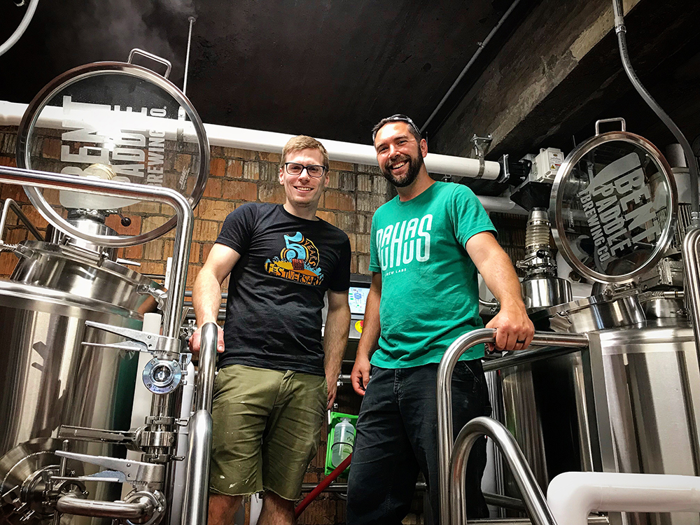 Photo courtesy BauHaus Brew Labs and Bent Paddle Brewing Company