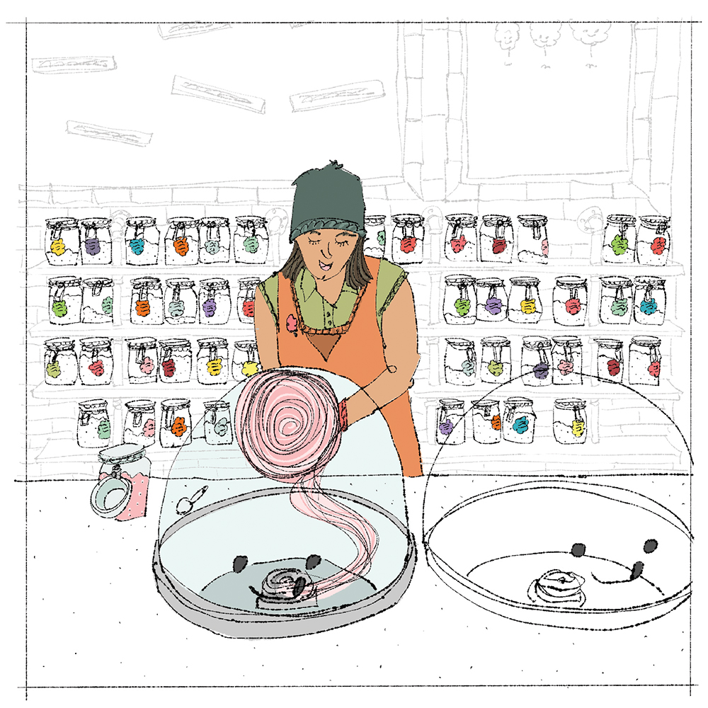 Spinning Wylde // Illustration by WACSO