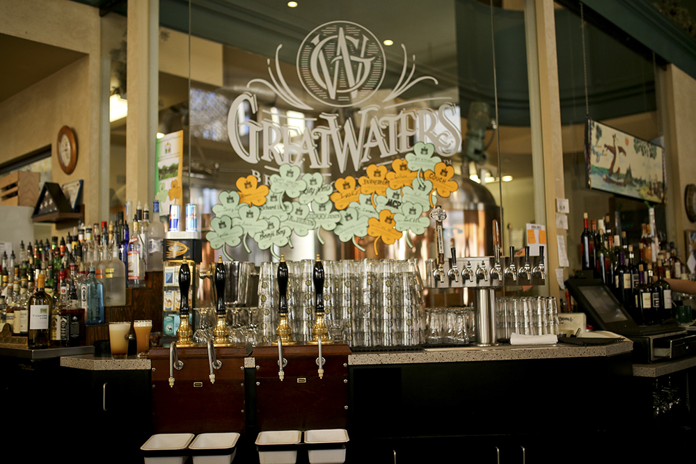 Great Waters Brewing Company, the oldest brewpub operating in St. Paul, is closing after service on November 18 // Photo by Aaron Davidson