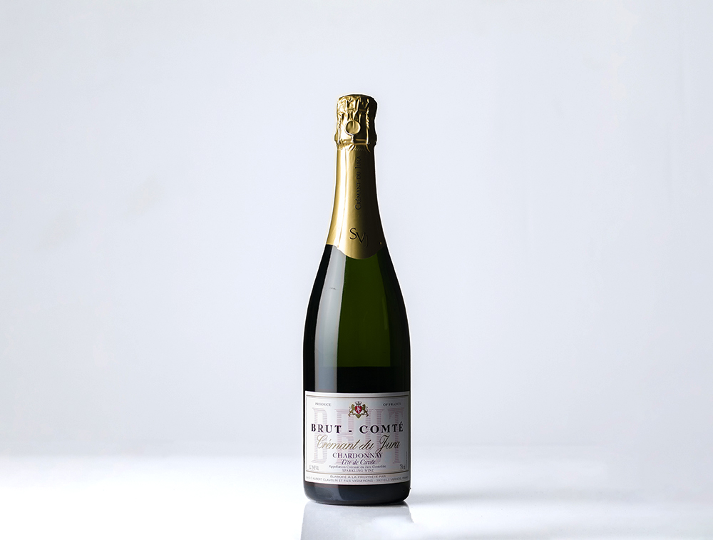 Hubert Clavelin Brut-Comte Crémant du Jura NV // Photo by Aaron Job