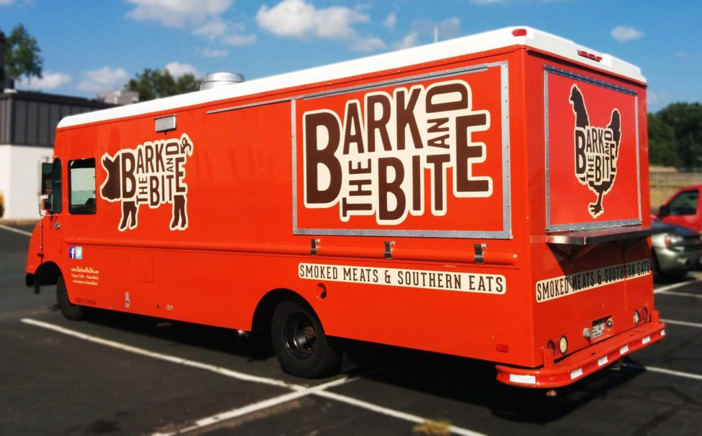The Bark and The Bite food truck // Photo via Bark and The Bite Facebook